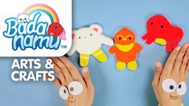 Badanamu Arts and Crafts Episode 10 - Fun with Clay - Make Bada, Mimi, and Abby.
