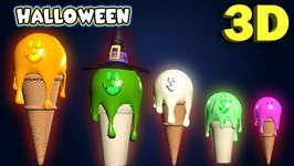 Ice Cream Finger Family  Halloween Finger Family Collection  Finger Family Song