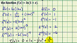 Ex: Find a Maclaurin Polynomial and the Interval for a Given Error - ln(1x)