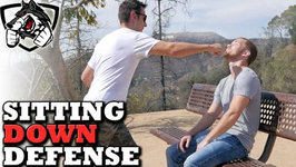 Attacked While Sitting Down: Self Defense Techniques