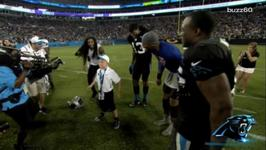 6-Year-Old Defeats Carolina Panthers In Adorable Dance-Off