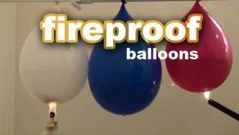 Scientific Tuesdays - Fireproof Balloons