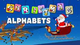 Christmas Alphabets  ABC song  Christmas Song for Children  World Rhymes