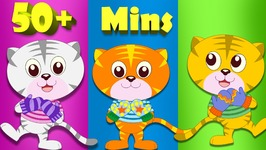 Three Little Kittens and Many More Animal Rhyme Cartoons  50 minute plus compilation