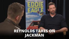 Hilarious: Ryan Reynolds interviews Hugh Jackman