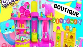 Shopkins Season 3 Playset Fashion Boutique Mode Spree Plus Giveaway(closed)