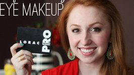 Tutorial - Soft Bronze Eye Makeup (featuring Lorac Pro To Go Eye/Cheek Palette)