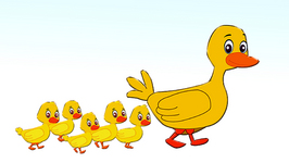 Five Little Ducks  Children's Popular Nursery Rhymes