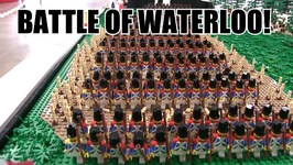 LEGO Battle Of Waterloo w 2,100 Plus LEGO Minifigures