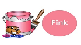 The Paint Is Pink Song Level 1 English Lesson