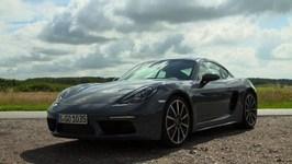 Porsche 718 Cayman Graphite Blue Metallic Design