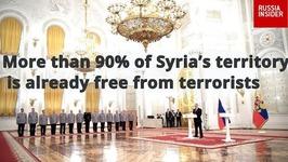 Putin: Over 90 of Syria Retaken From ISIS