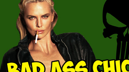Charlize Theron Decided to Shave Herself