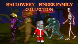 Halloween Finger Family Collection 3D By MyKiddyWorld  Top 5 Finger Family Collection For Children