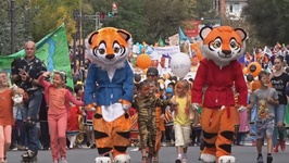 A Roaring Party- Russia Celebrates Tiger Day