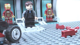 Brick Films - Magnetic Iron Man
