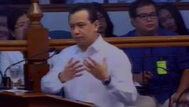 Cayetano to Trillanes Anywhere, anytime, I wont back down
