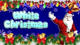 Christmas Songs - White Christmas in 3D - Christmas Songs For Children By Baby Nursery Rhymes