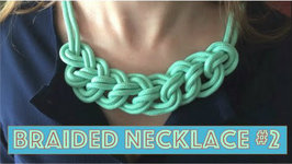 New Paracord Braided Necklace: Easyyy