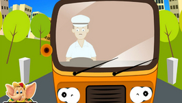 The Wheels On The Bus - Nursery Rhyme With Karaoke