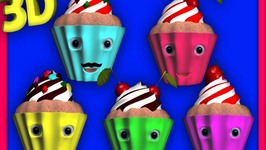 Cup Cake Finger Family song  Ice Cream  Cake Pop  Chocolate and Lollipop Finger Family Songs 3D