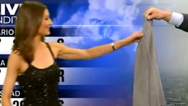 News Weather Woman Forced to Cover Up