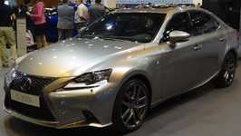 Lexus IS 300h F Sport at Madrid Motor Show 2014