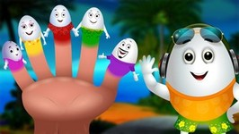 Egg Finger Family Song  Fun Hawaii Water Games For Kids  Surprise Eggs Nursery Rhymes  ChuChu TV