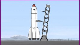 Big Construction  Vehicles  Learn To Build A Space Rocket