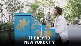 Something magical has changed the tune of New York City