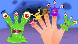 Finger Family  Monster Finger Family Nursery Rhyme  Monster Finger Family Songs