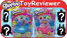 Vol 2 Season 1  Shopkins 10 And 12 Pack 4 Mystery Shopkins Unboxing Review