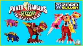 Power Rangers Dino Charge Megazord Toy Opening  Power Rangers Dinosaur Toys by Toypals.tv