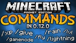 Commands in 0.12.0 - Commands Mod For MCPE - Minecraft PE -Pocket Edition