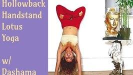 Handstand Lotus Yoga