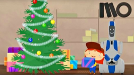 Christmas Cartoon  Doctor McWheelie And Santa Claus  Car Cartoon On KidsFirstTV