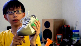 Teen Invents Shoe That Charges Smartphone As You Walk