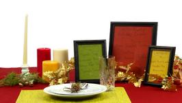Up Your Dinner Game with Framed Menus