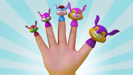 Finger Family  Popular Nursery Rhymes