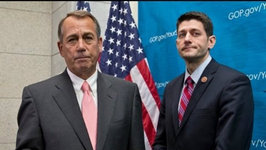 John Boehner Backs Paul Ryan Over Trump and Cruz