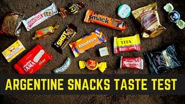 Argentine Snacks and Argentinian Candy Taste Test