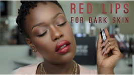 2015 Red Lipstick for WOC and Dark SKin