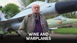 The winemaker who lives in a castle with 100 warplanes
