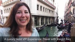 23 Evening Gondola Ride in Venice Italy with Insight Vacations Luxury Gold April 17 201