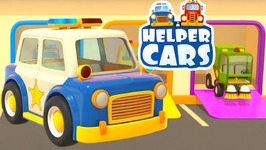 videos for kids helper cars 3 police c