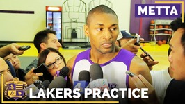 Metta World Peace On Earning Lakers Final Roster Spot