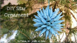 Christmas Crafts - DIY Polish Star Ornament - Christmas Decoration & Paper Crafts Tutorial