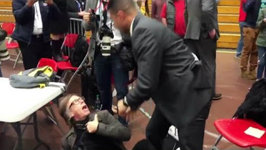 VIDEO: Time Magazine Photographer Choked and Slammed at Trump Rally in Virginia