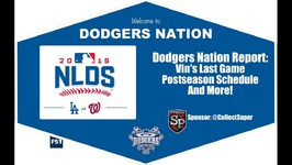 Dodgers Nation Report - Vins Last Game, Postseason Details, Dontlookatme Shirts And More