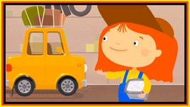 Doc McWheelie's Caravan Gets Lost  Children's Car Cartoons  Learn About GPS
